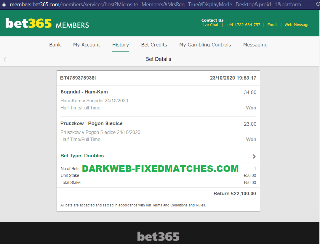double fixed matches ht ft 24 10