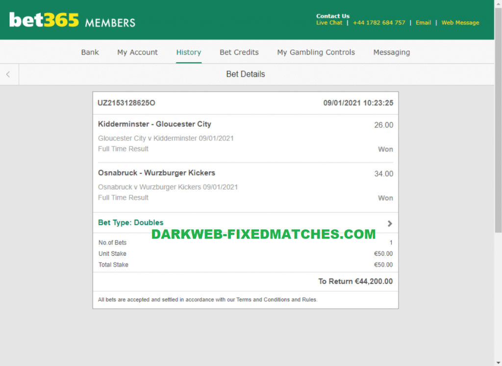 halftime fulltime fixed matches soccer won dark web 09 01