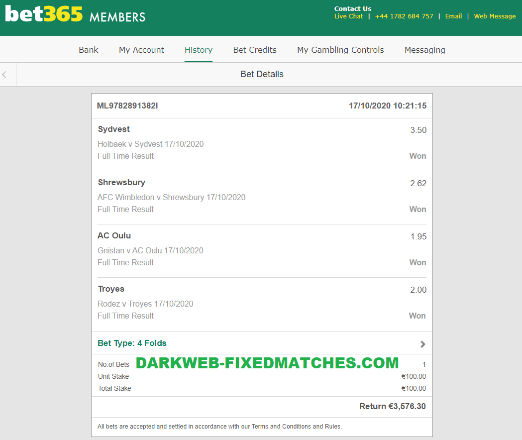 BEST FIXED MATCHES 1X2