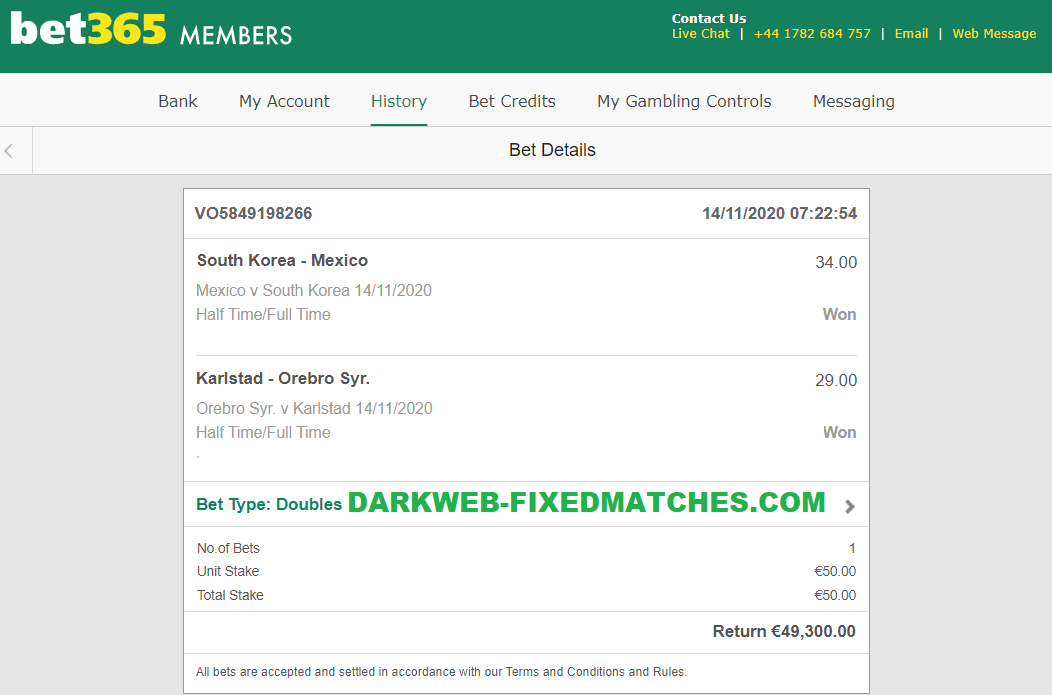 SOCCER FIXED MATCHES HT FT WON 14 11