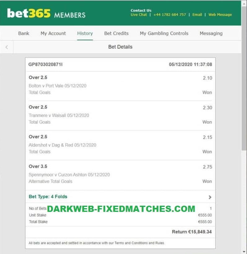 combo fixed matches won 05 12
