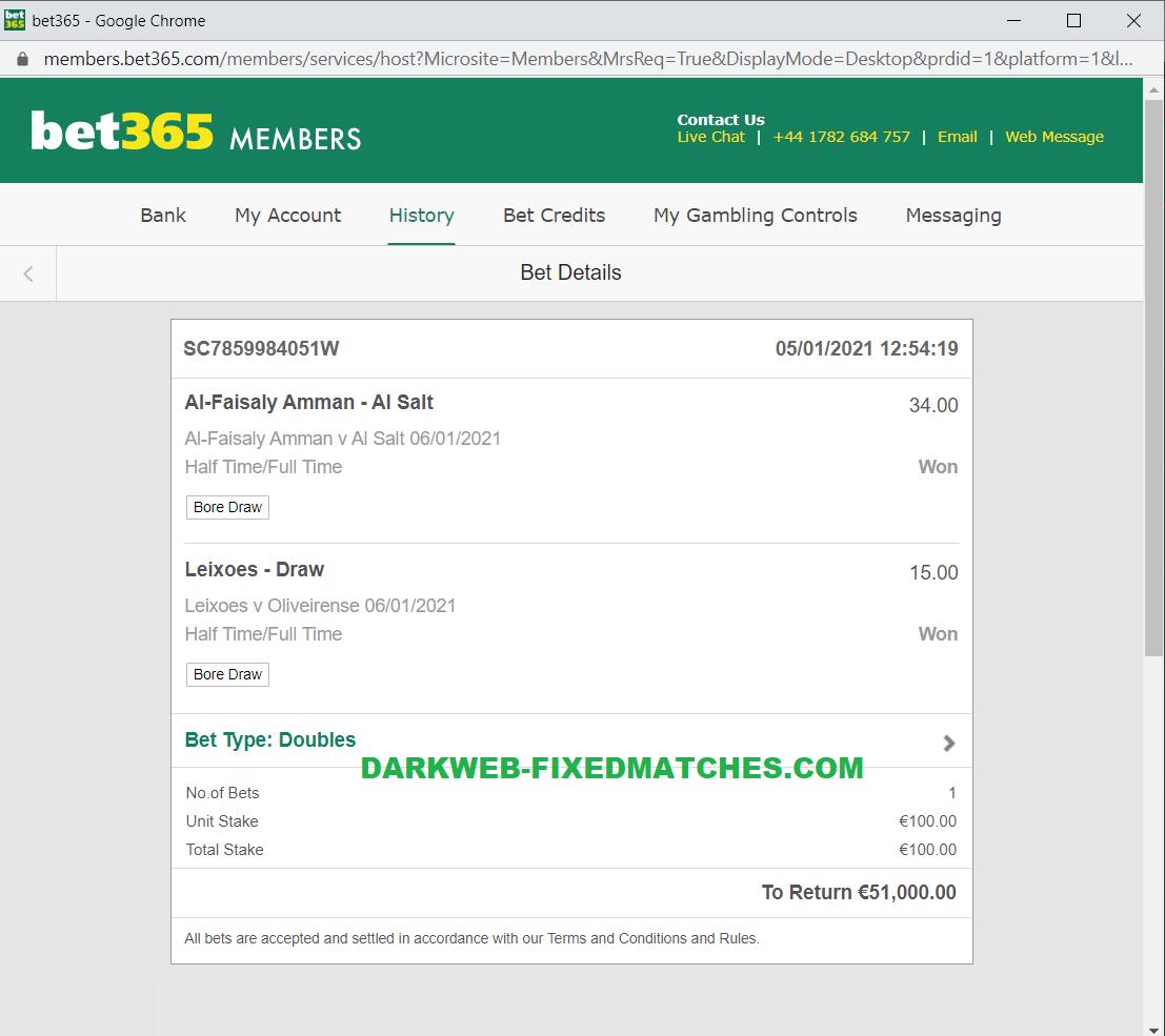 dark web fixed football matches won 06 01