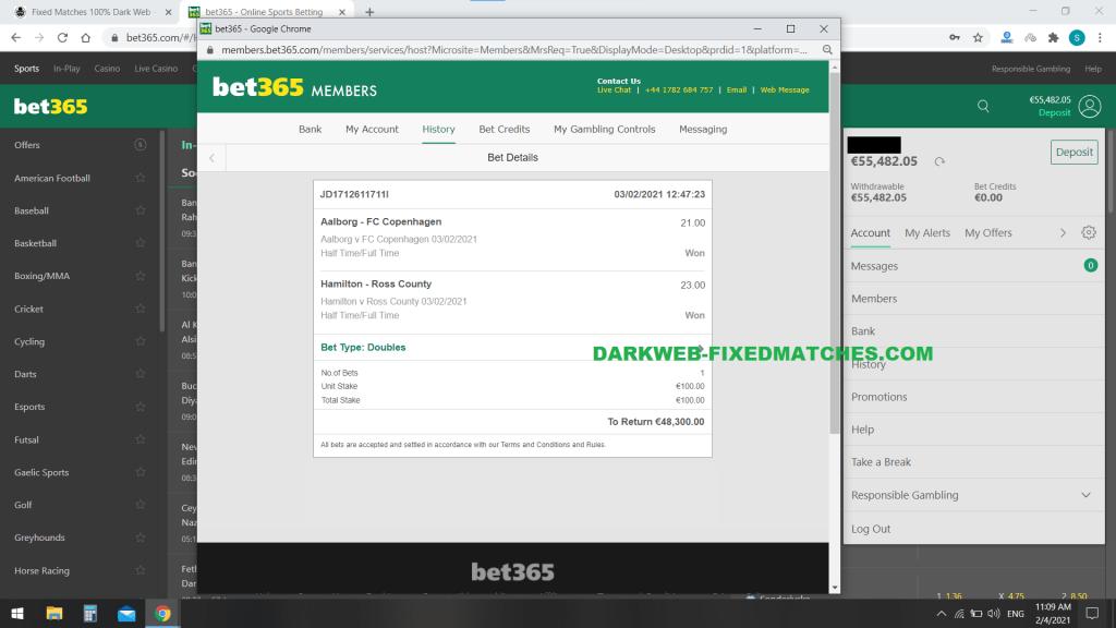 darkweb fixed matches double ht ft won 03 02