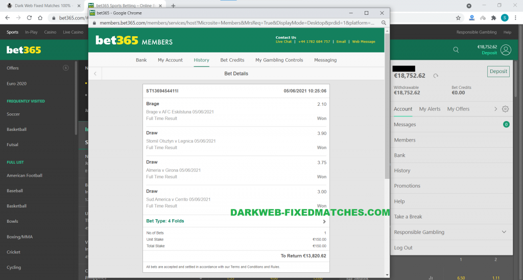 fixed combined matches dark web 05 06