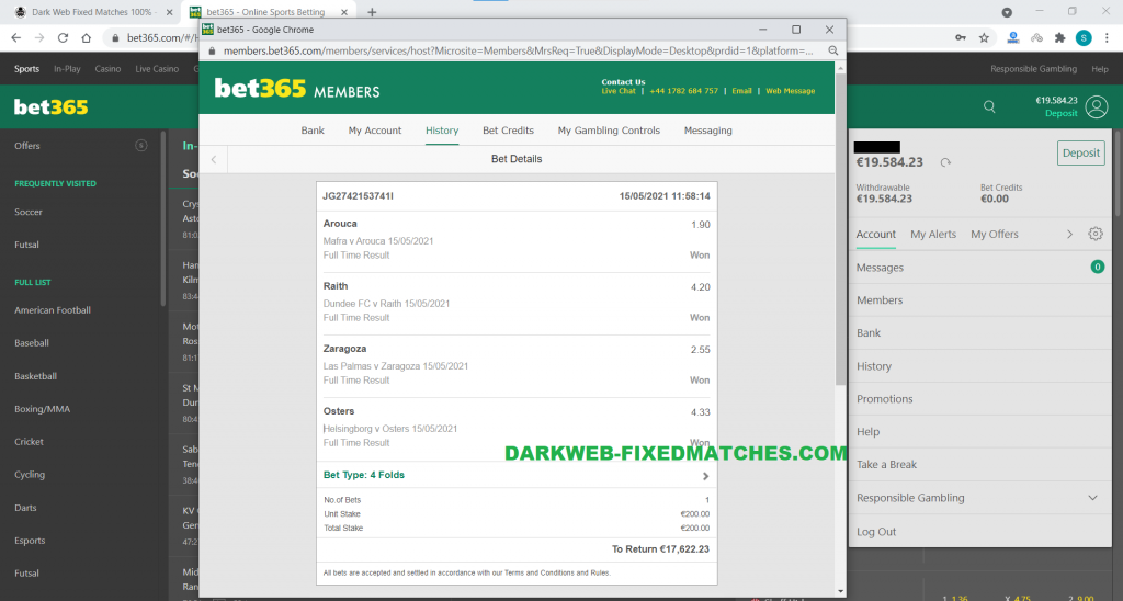 soccer combined fixed matches vip tips dark web 15 05