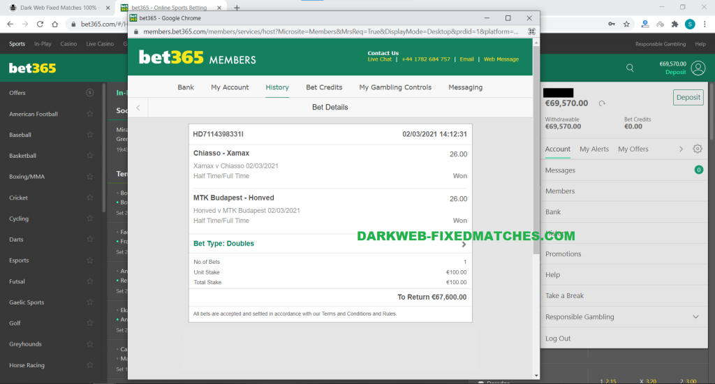 soccer fixed matches ht ft won 02 03 dark web